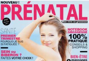 couverture magazine prenatal